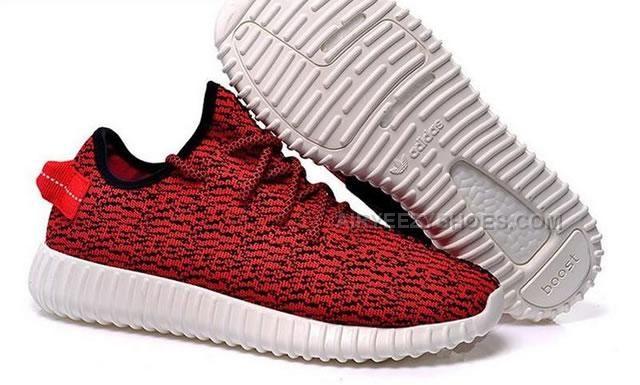 Adidas Yeezy 350 rojo
