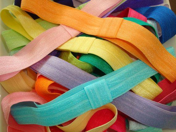 Baby Headband Interchangeable Fold Over Elastic Headbands 6 75 Elastic Headbands Baby Headbands Headbands