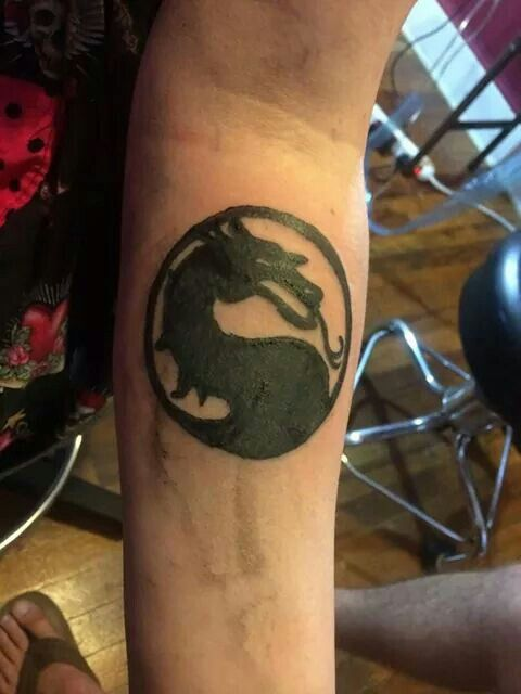 Mortal Kombat Tattoo Tattoos Mortalkombat Videogames Mortal