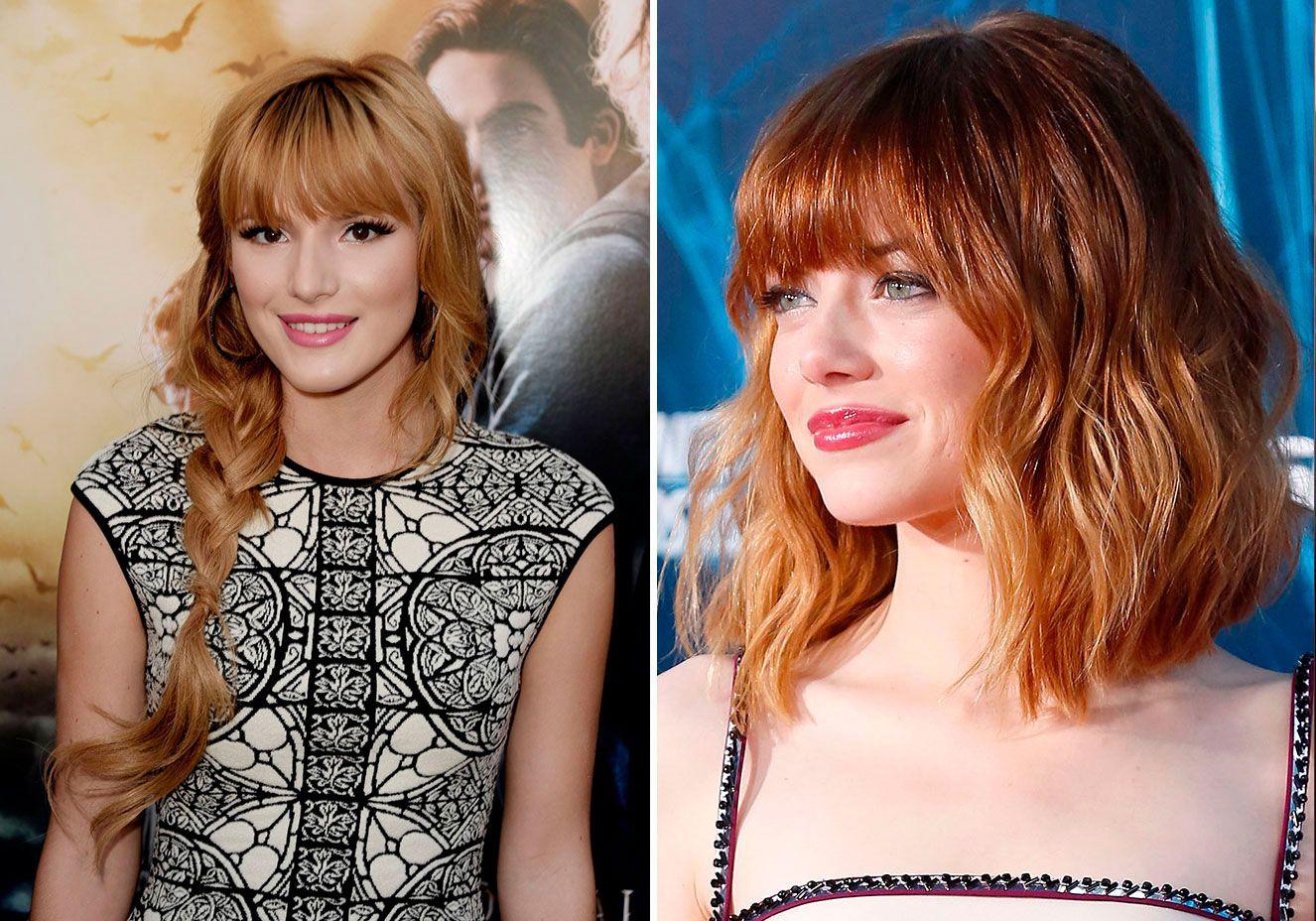 Penteados com franja: inspire-se nas famosas para sair do comum