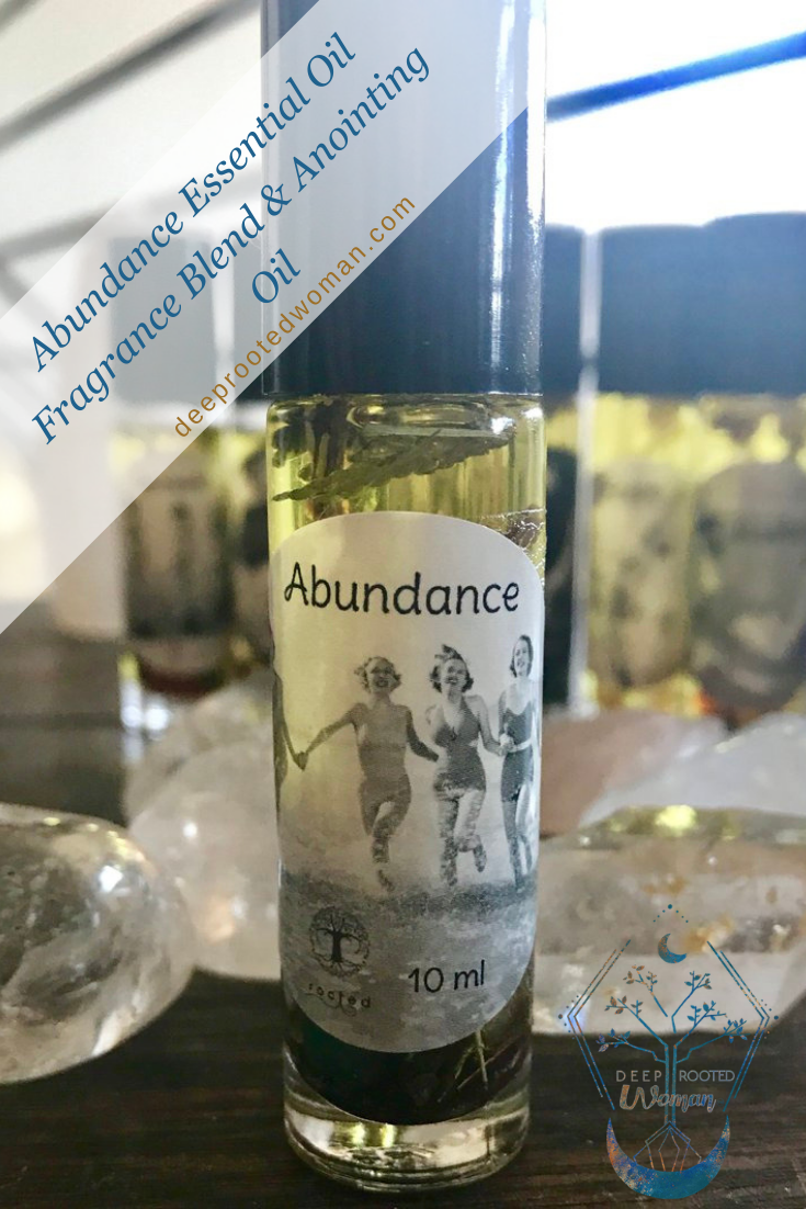 Abundance Essential Oil Fragrance Blend & Anointing Oil | Essential