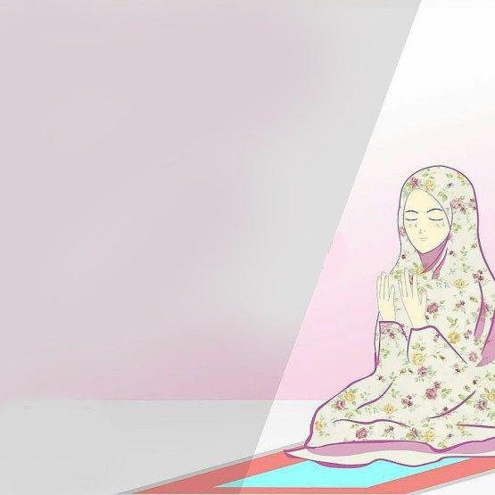Dp Bbm Kartun Muslim Berdoa All About Islam Muslim Islam Dan