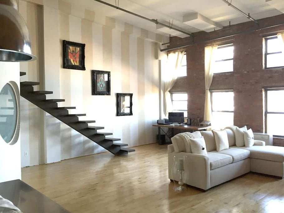 Check out this awesome listing on Airbnb: Williamsburg loft