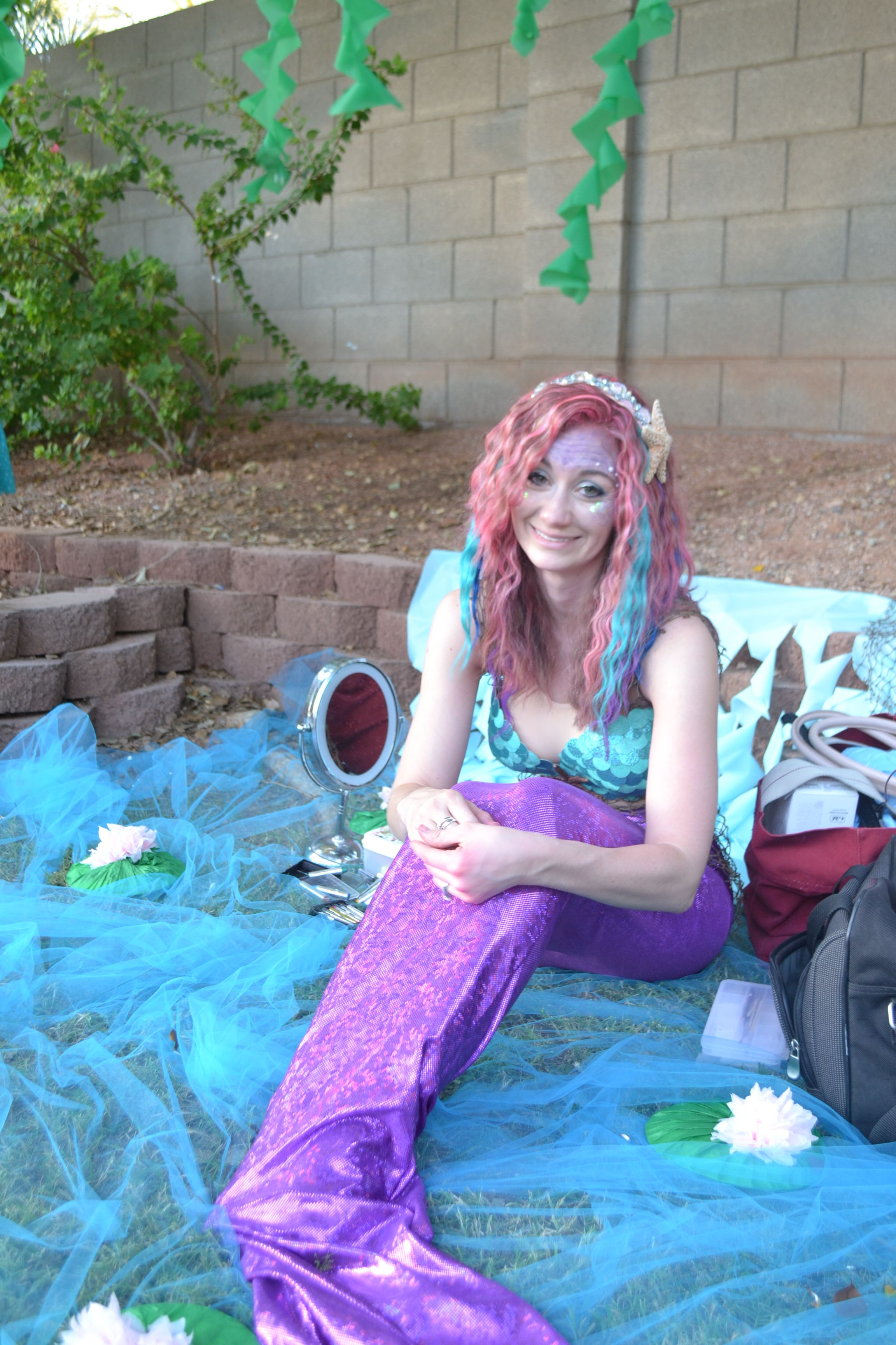 Peter Pan 1st Birthday Party Mermaid birthday, Diy