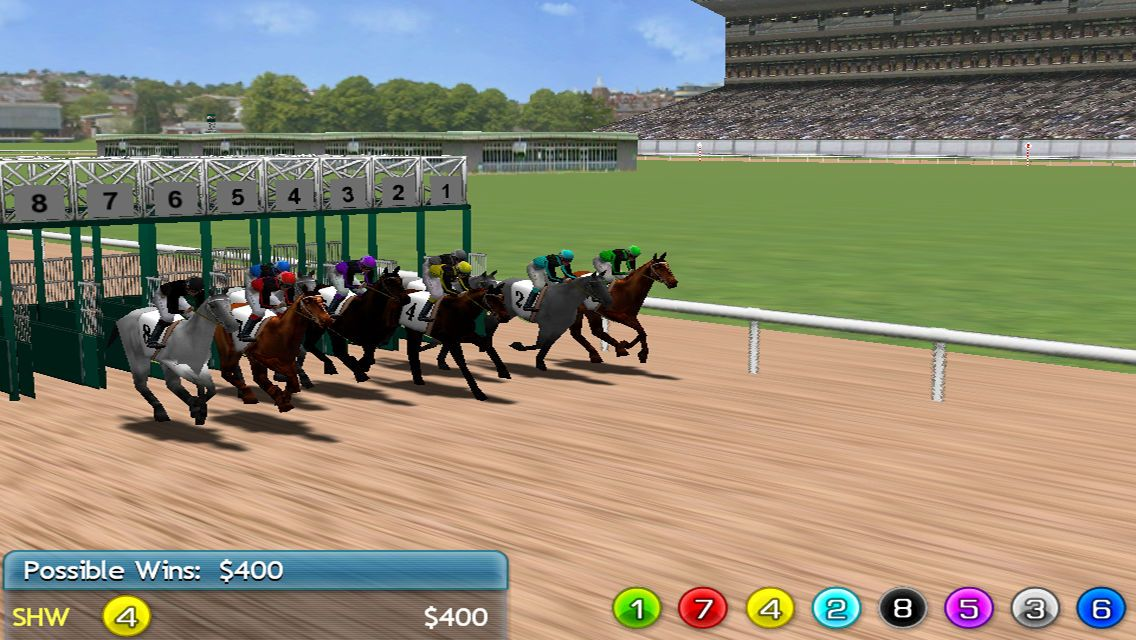 Virtual Horse Racing 3D Lite #Games#Ariyatrakool