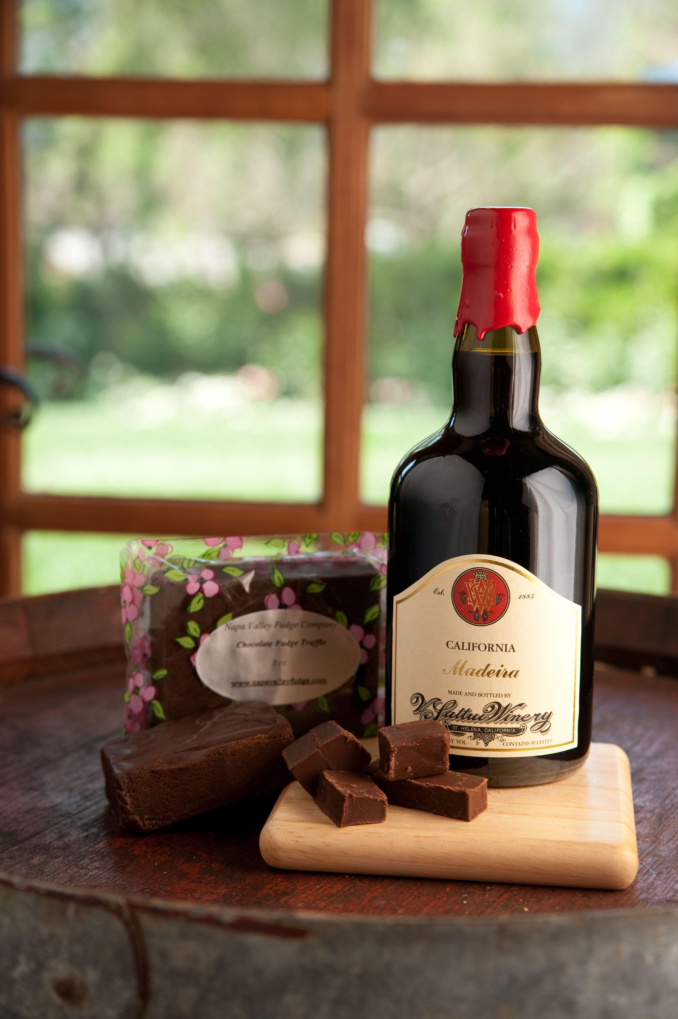 V. Sattui Winery: Madeira & Chocolate