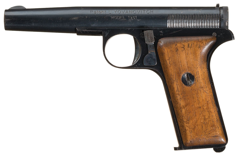 Arme Prototype incredibly rare serial number 7 yovanovitch model 1931 semi