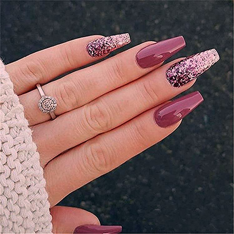 Photo of 50 Stylish Winter Acrylic Coffin Nail Designs To Copy Right Now – Page 41 of 50 – Harmony