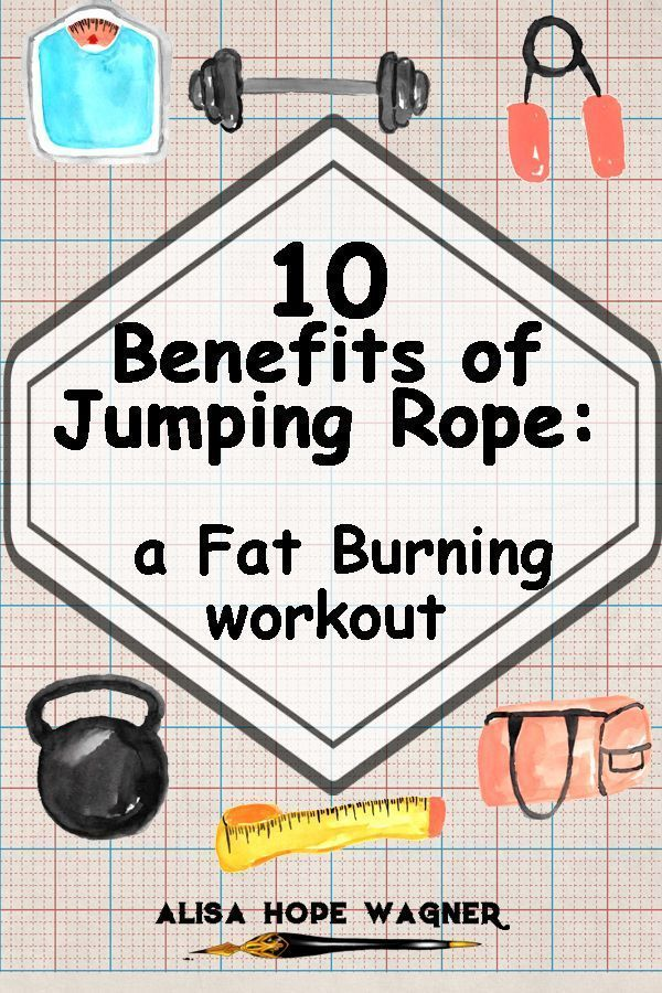 Jumping rope will help you to lose weight fast. Because it is a high-intensity compound exercise, yo...