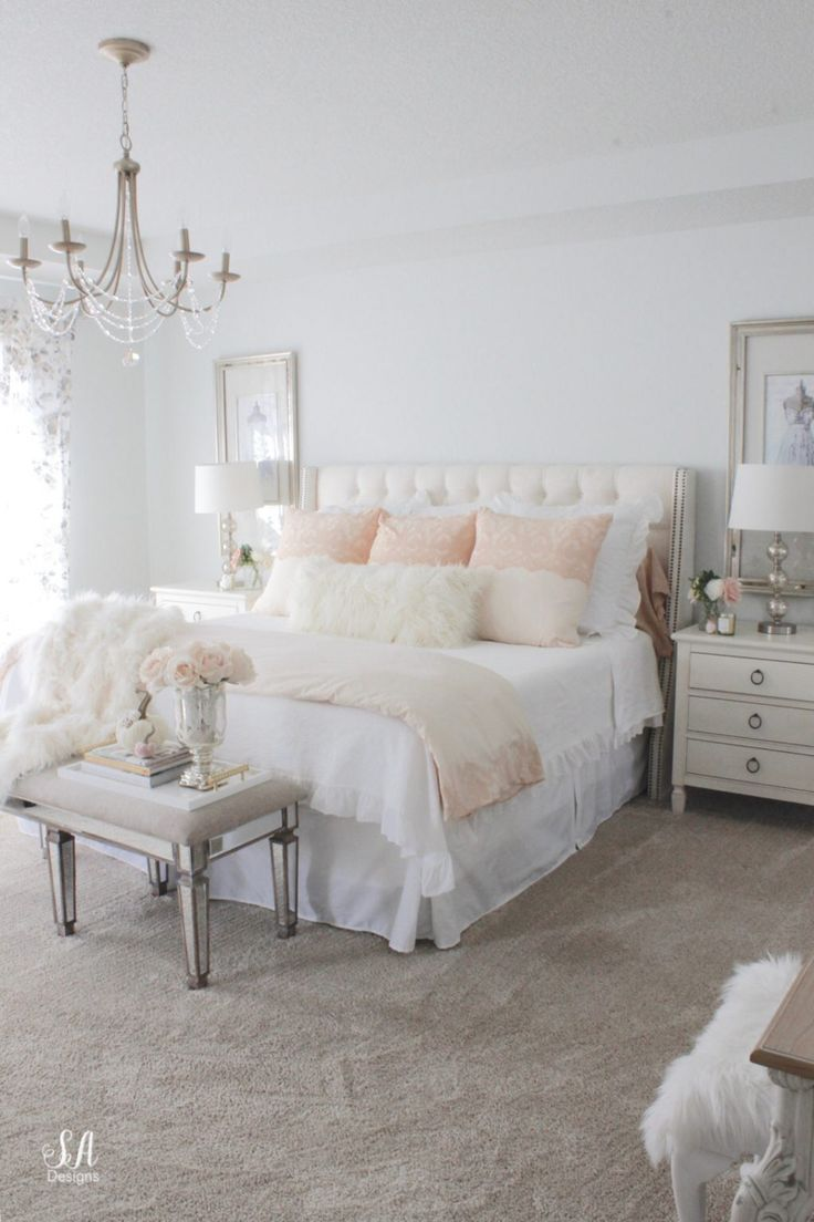 Master Bedroom Updates For Fall & Winter – Summer Adams