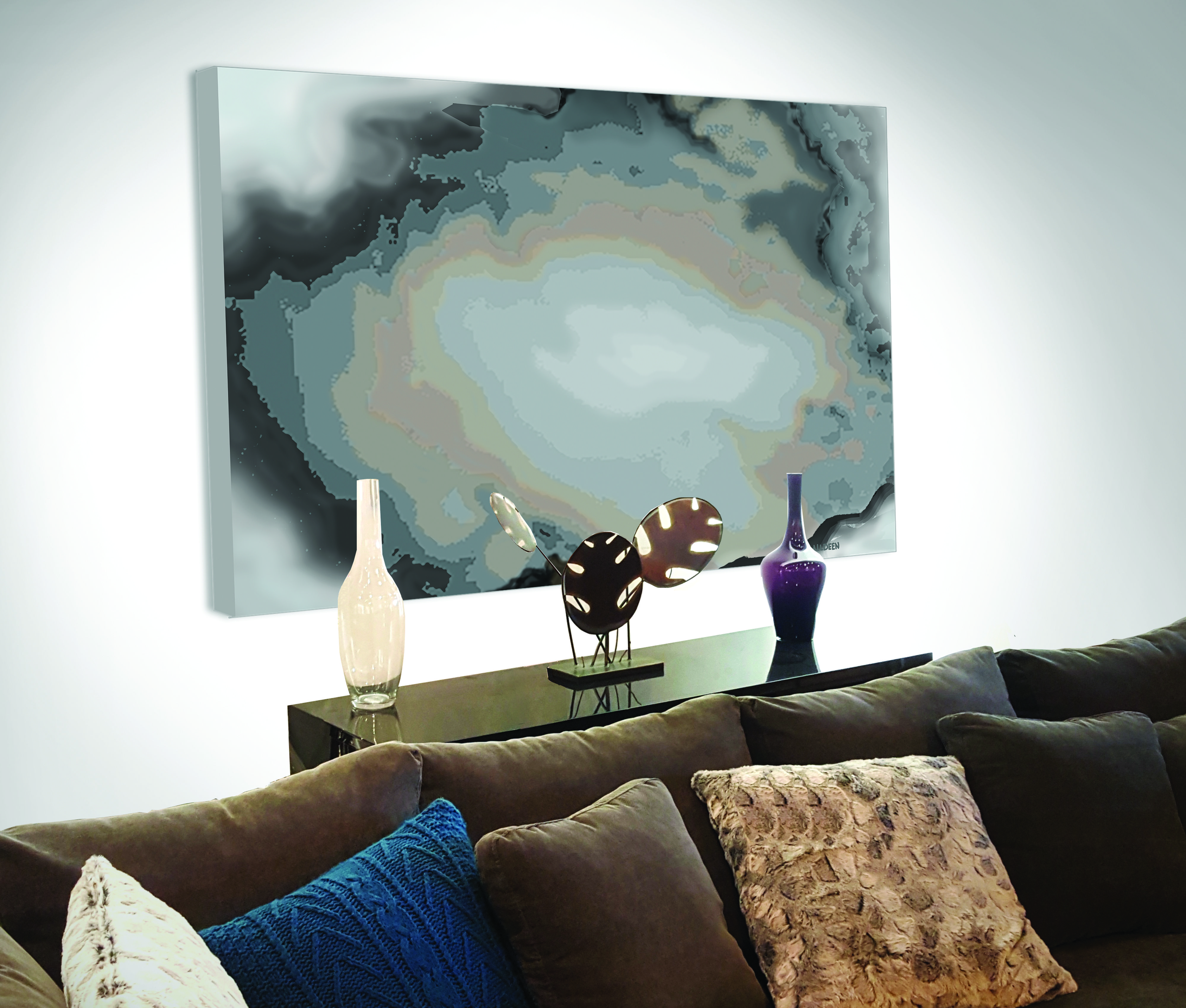 Large canvas paintingsprints made from my original oneofakind