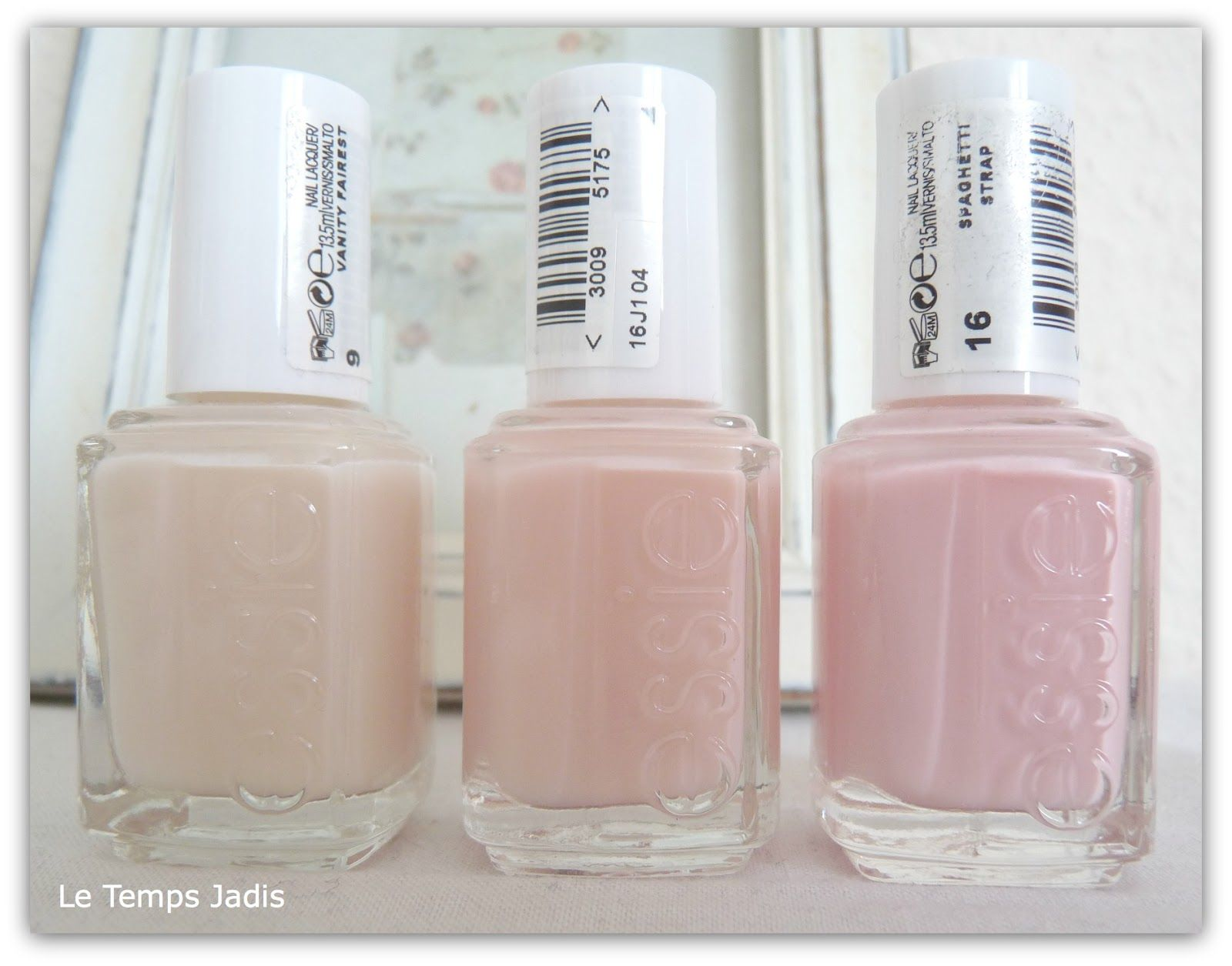 COMPARISON :: #Essie Sheers :: L to R: Vanity Fairest, Sugar Daddy ...