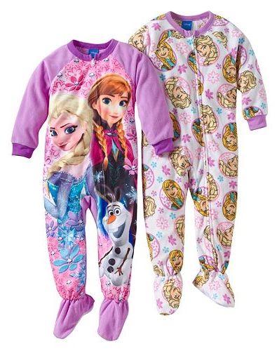 Disney Purple Snowflake Frozen 5-6 Years 7-8 Years Leggings Girls
