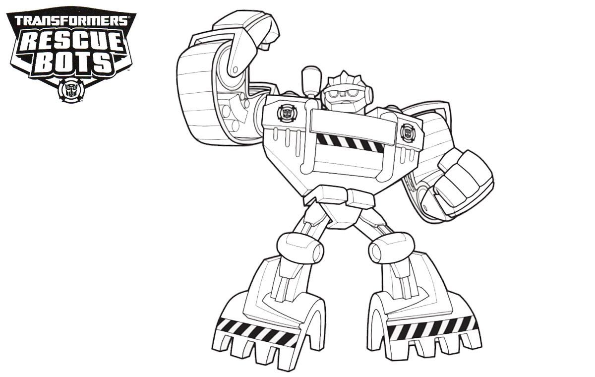Rescue Bots Coloring Pages Rescue Bots Transformers Coloring
