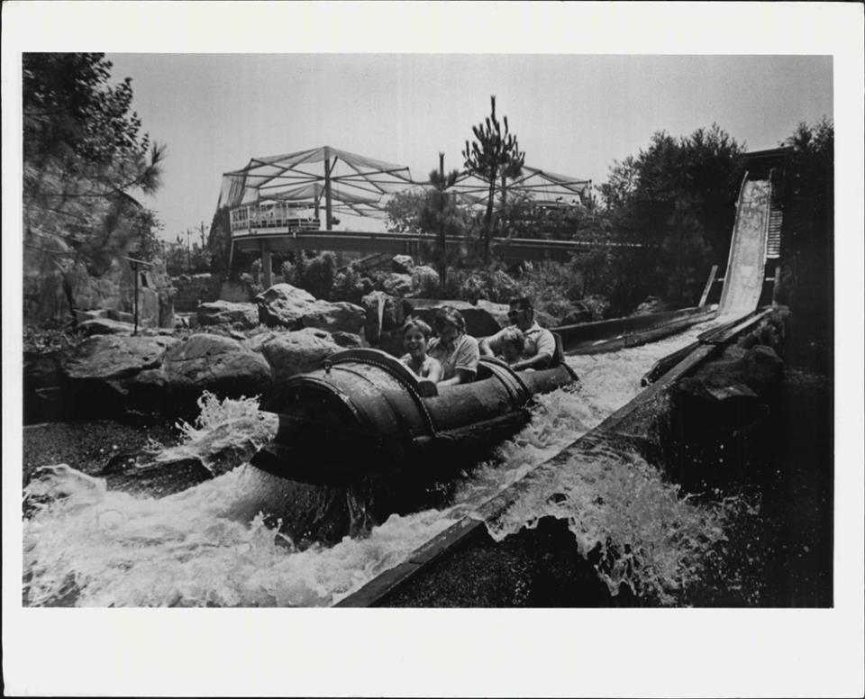 Busch Gardens Log Ride Van Nuys, San Fernando Valley
