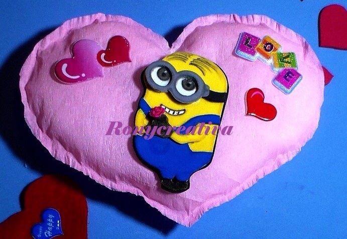 Minion san Valentín