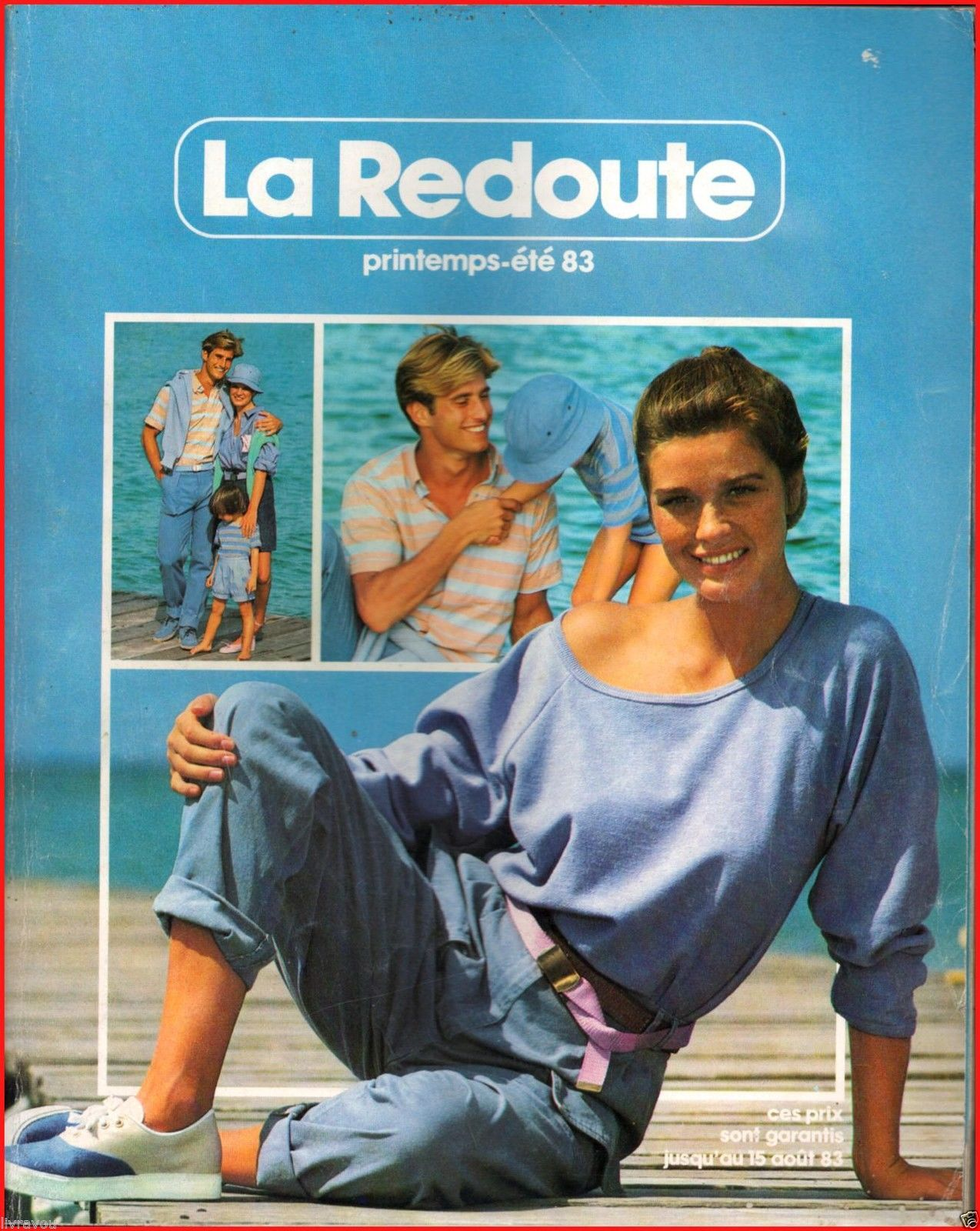 catalogue la redoute printemps t 1983 mode fashion vintage ebay 1980 1989 les annees 80. Black Bedroom Furniture Sets. Home Design Ideas