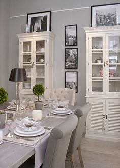 Marvelous Long Island Home Dining Area, Kitchen Dining, Country Dining Rooms, Gray  Paint,