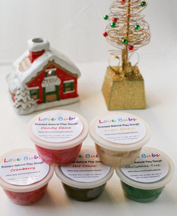Homemade Play Dough Scented Play Dough Molding Clay by LoveBubs, $9.99