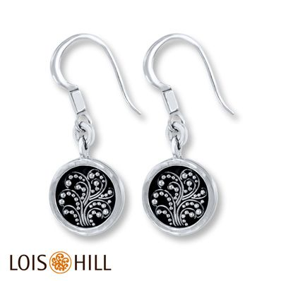 Lois Hill Dangle Earrings Sterling Silver at Jareds for 159