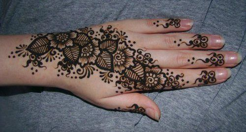 Mehndi Patterns Images : Different types of mehendi designs arabic mehndi