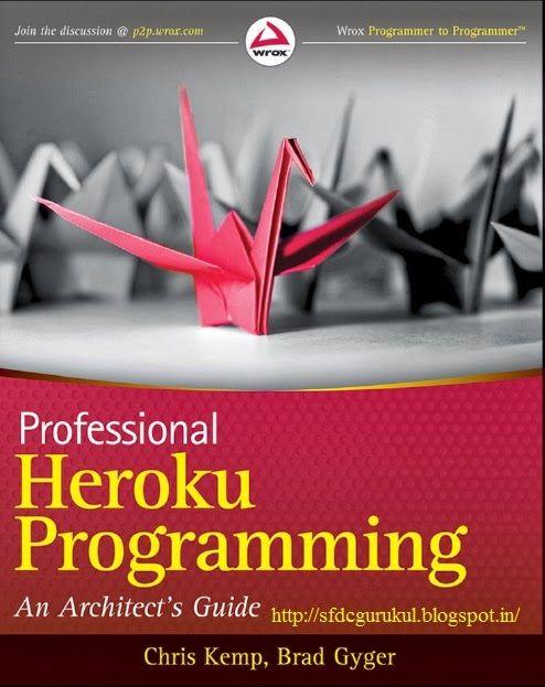 PROFESSIONAL HEROKU PROGRAMMING Pdf Free Download | Salesforce