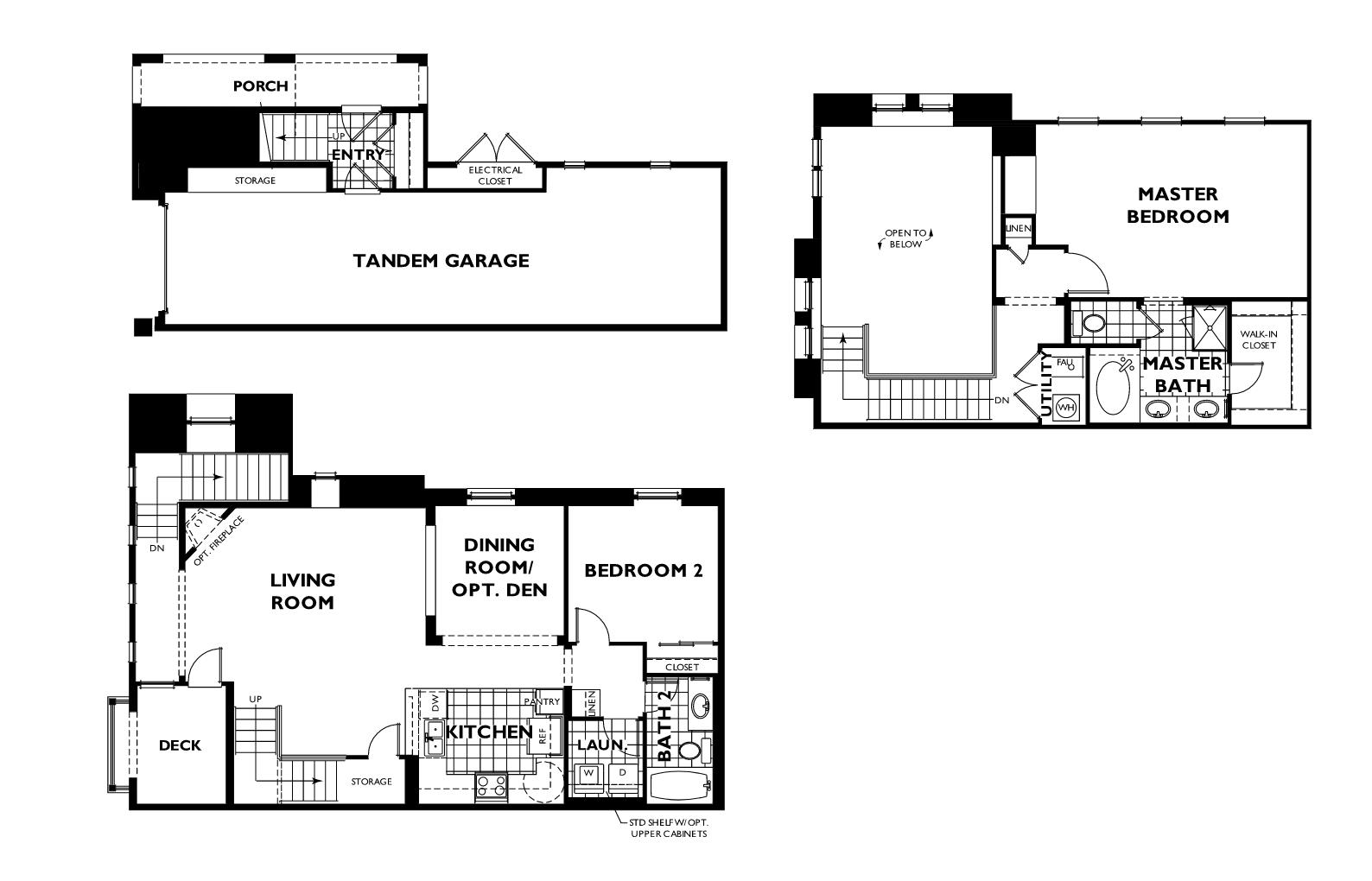 Plan 3x Siena Floor Plan Tresana At Highlands Ranch By