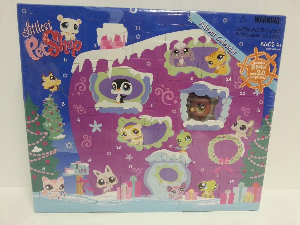 Littlest Pet Shop Christmas Winter Advent Calendar 2008