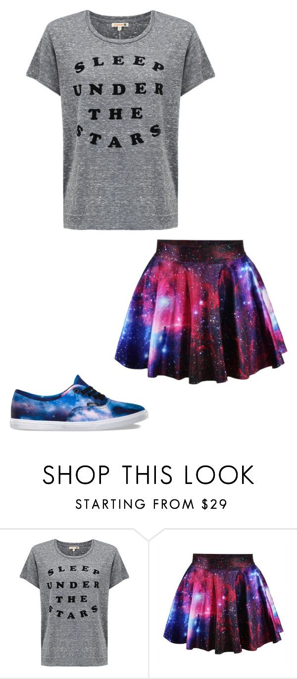 """""""Galaxy Outfit"""" by pancake-queen222 ❤ liked on Polyvore featuring Sundry and Vans"""