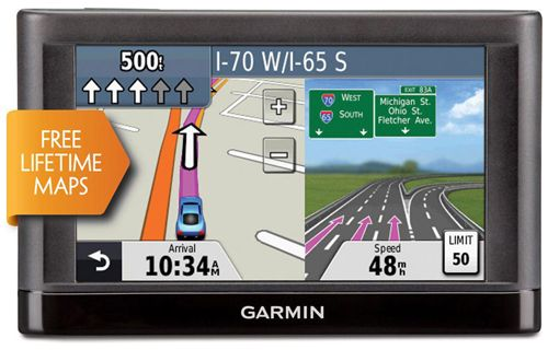 The Garmin Nuvi 44lm Is A 4 3 Inch Gps Device That Has Us And Canada