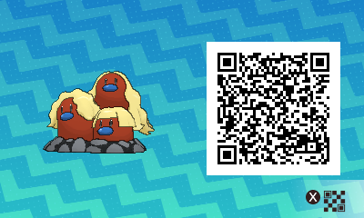 how to get pokemon in pokemon sun with qr code