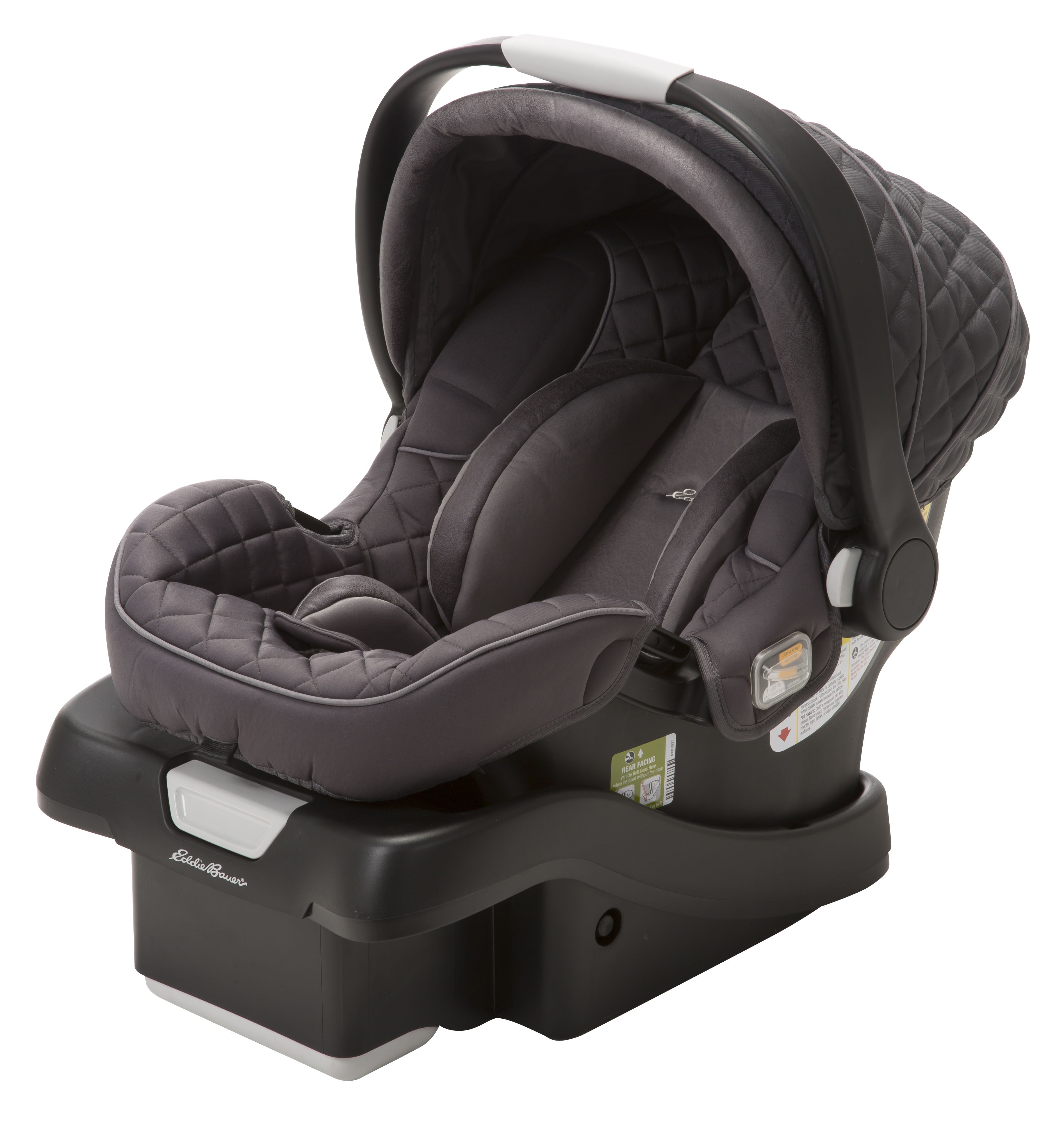 Eddie bauer surefit infant car seat target exclusive eb graphite