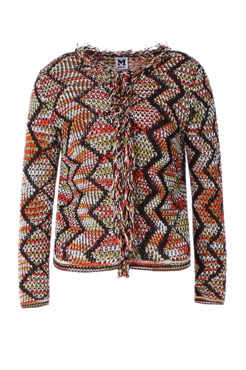 MMissoni MULTICOLOR ZIGZAG JACKET Women clothing