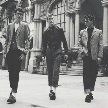 1950s Teddy Boys wearing Creepers                                                                                                                                                                                 More