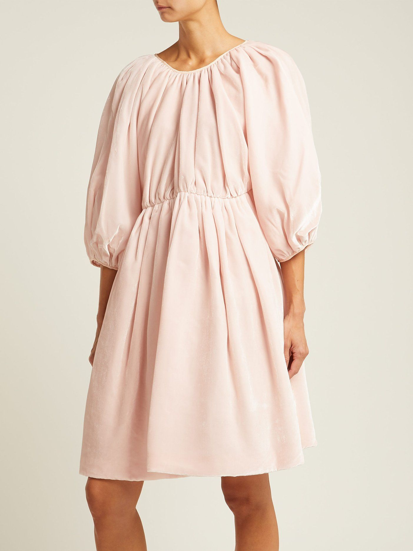 e738b91eafb4 Click here to buy Cecilie Bahnsen Ava velvet mini dress at  MATCHESFASHION.COM