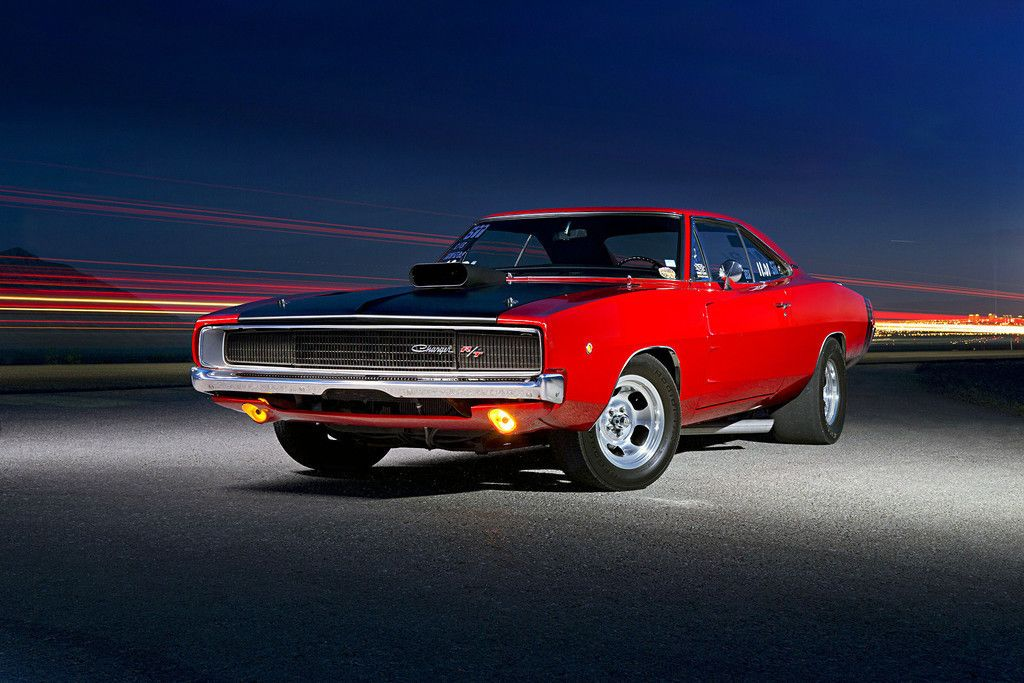 Classic Muscle Car Red Dodge Charger Wallpaper Cars Wallpapers