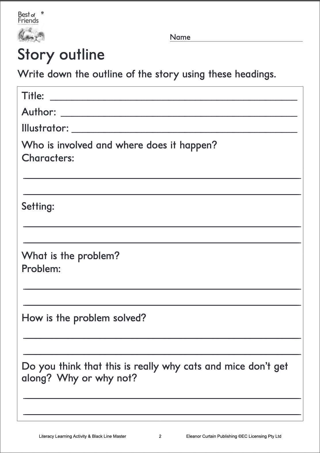 33++ Story outline worksheet Information