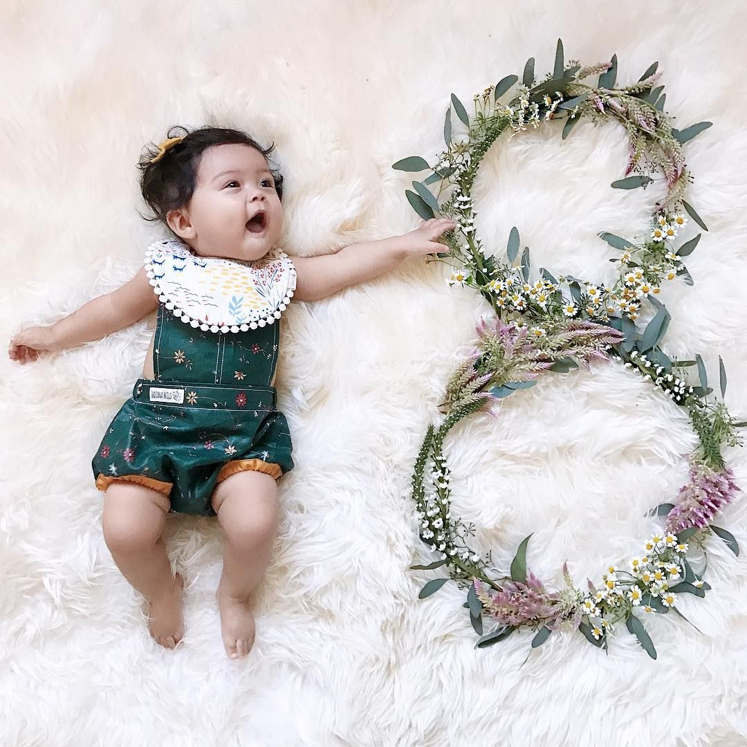 Pinterest Chelseakhaila Monthly Baby Pictures Baby Monthly Pictures Girl Baby Milestones