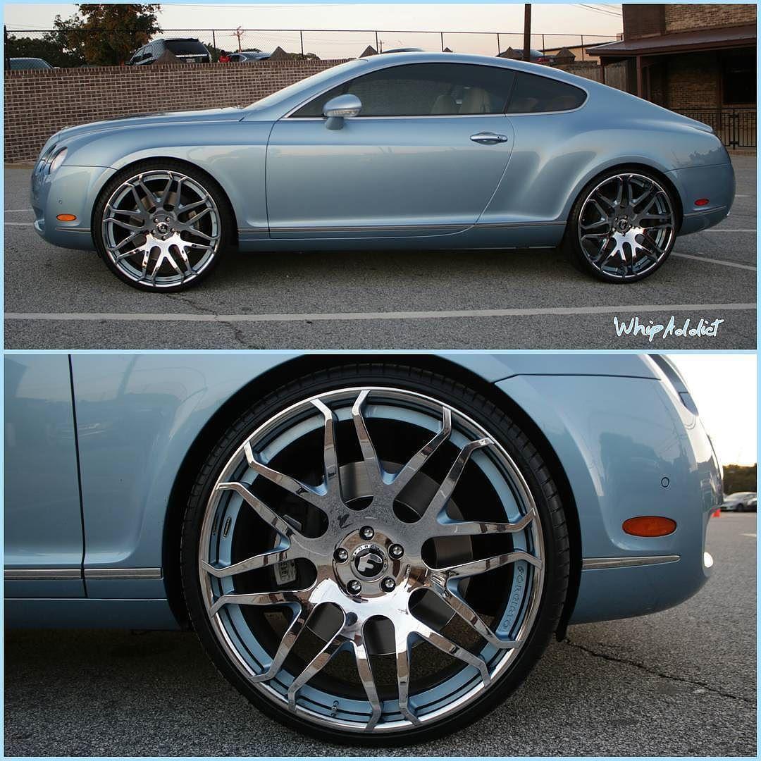 Bentley GT So Hard On These @forgiato @wheels