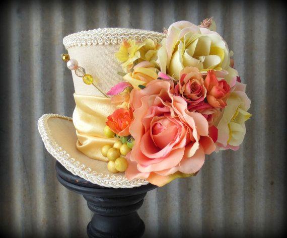 Alice in Wonderland Tea Party Hat... Brides maids?