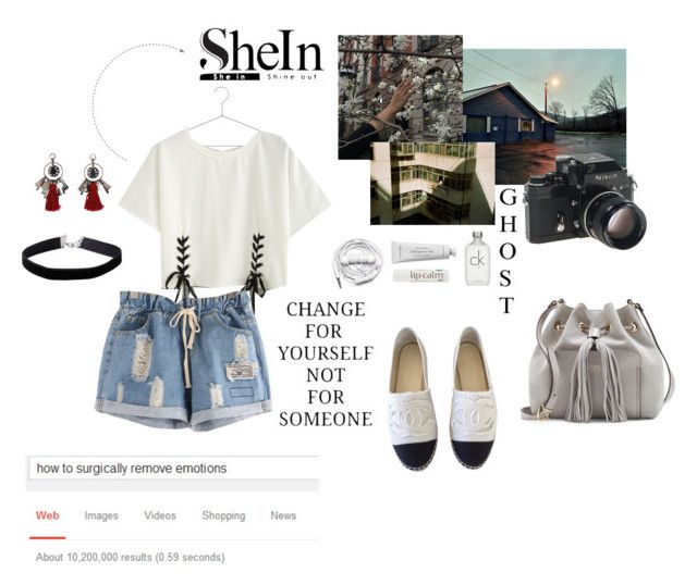 """She In _-_-_"" by biancaborlenghi ❤ liked on Polyvore featuring HAY, Oscar de la Renta, Chanel, Nikon, Urbanears, Byredo, John Masters Organics, Calvin Klein, Miss Selfridge and Vince Camuto"