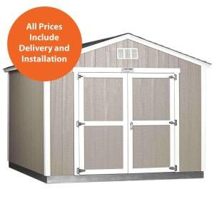 Tuff Shed Installed The Tahoe Series Tall Ranch 10 Ft X 12 Ft X 8 Ft 10 In Painted Wood Storage Building Shed Tahoe 10x12 E The Home Depot Built In Storage Tuff Shed Shed