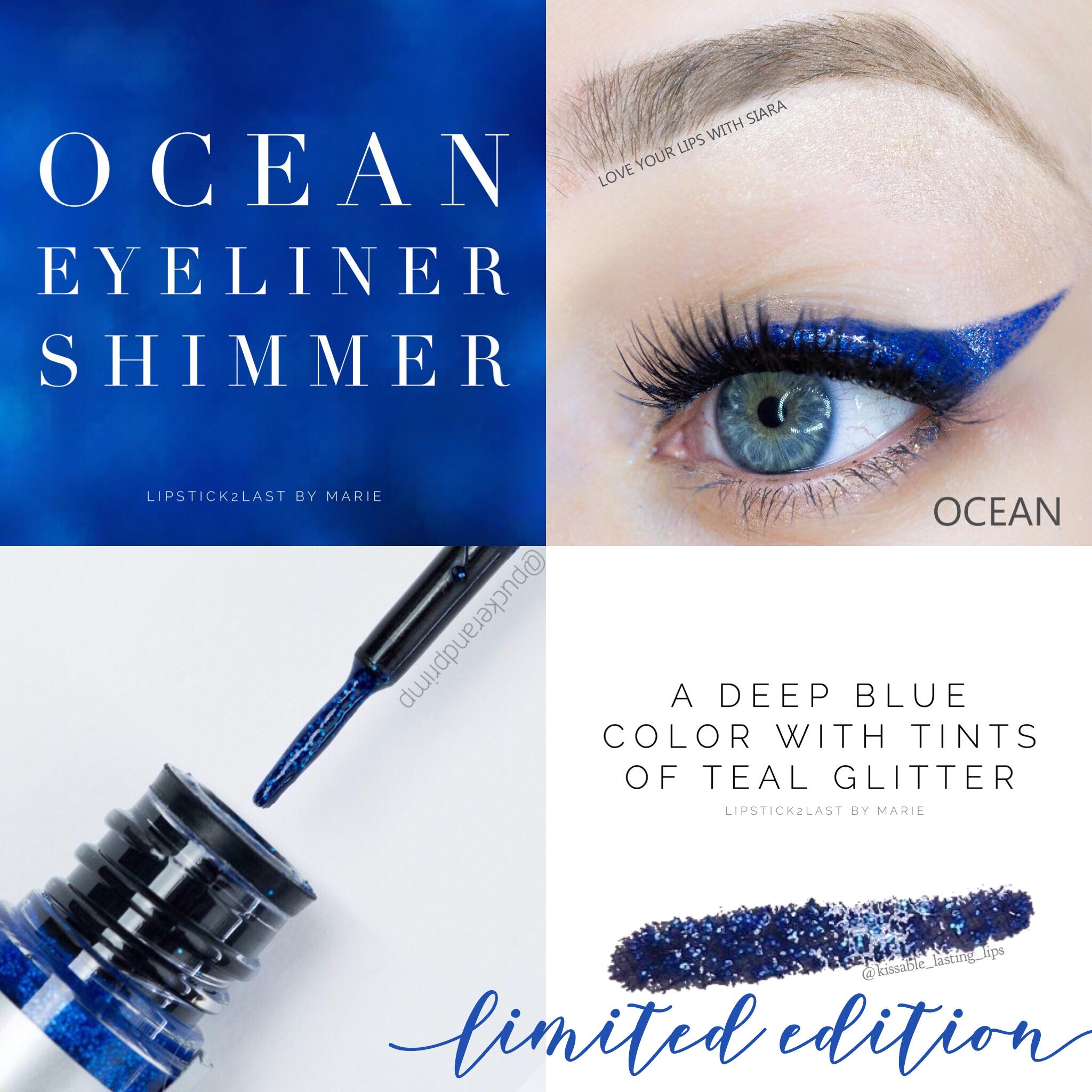 Ocean EyeSense Shimmer. Long lasting waterproof eyeliner