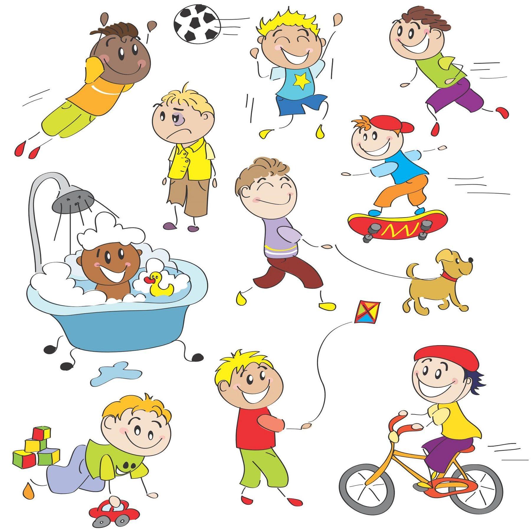 Cartoon Children Kids People 06