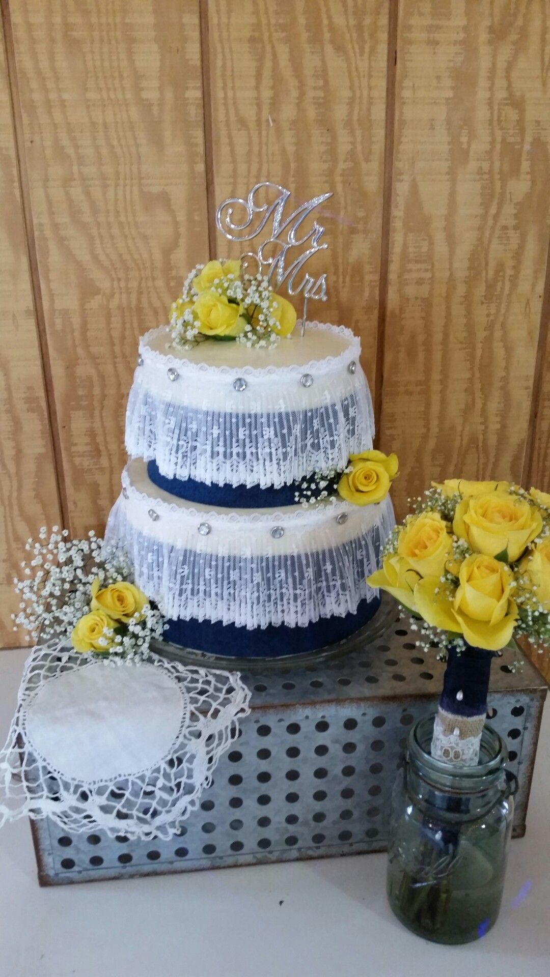 Joan country wedding cake spring my personal cakes