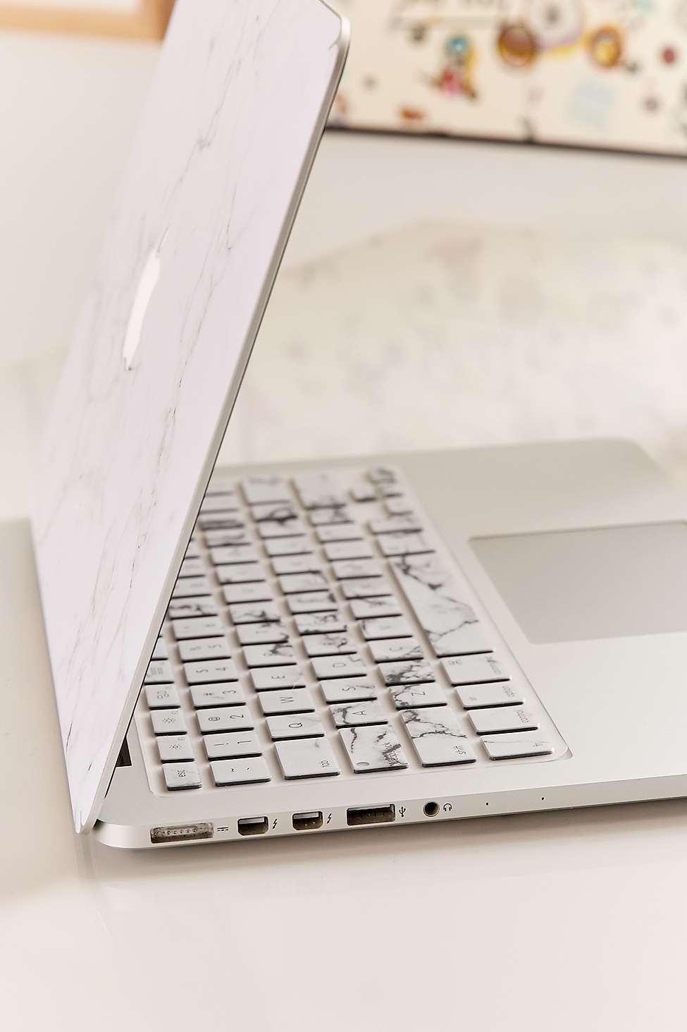White Marble Keyboard Cover Keyboard Cover Keyboard Cover