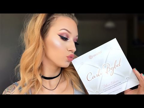 6fd69deab530f1 DELUXE CARLI BYBEL x BH PALETTE - Tutorial Swatches Comparison Review -  YouTube