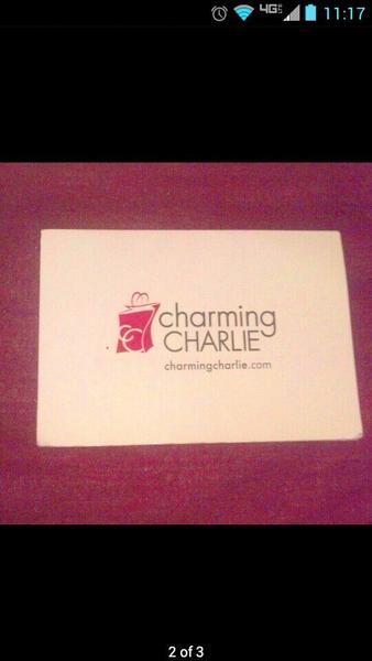 Charming Charlie! Gift Card! Make Offer! | misc/fun stuff