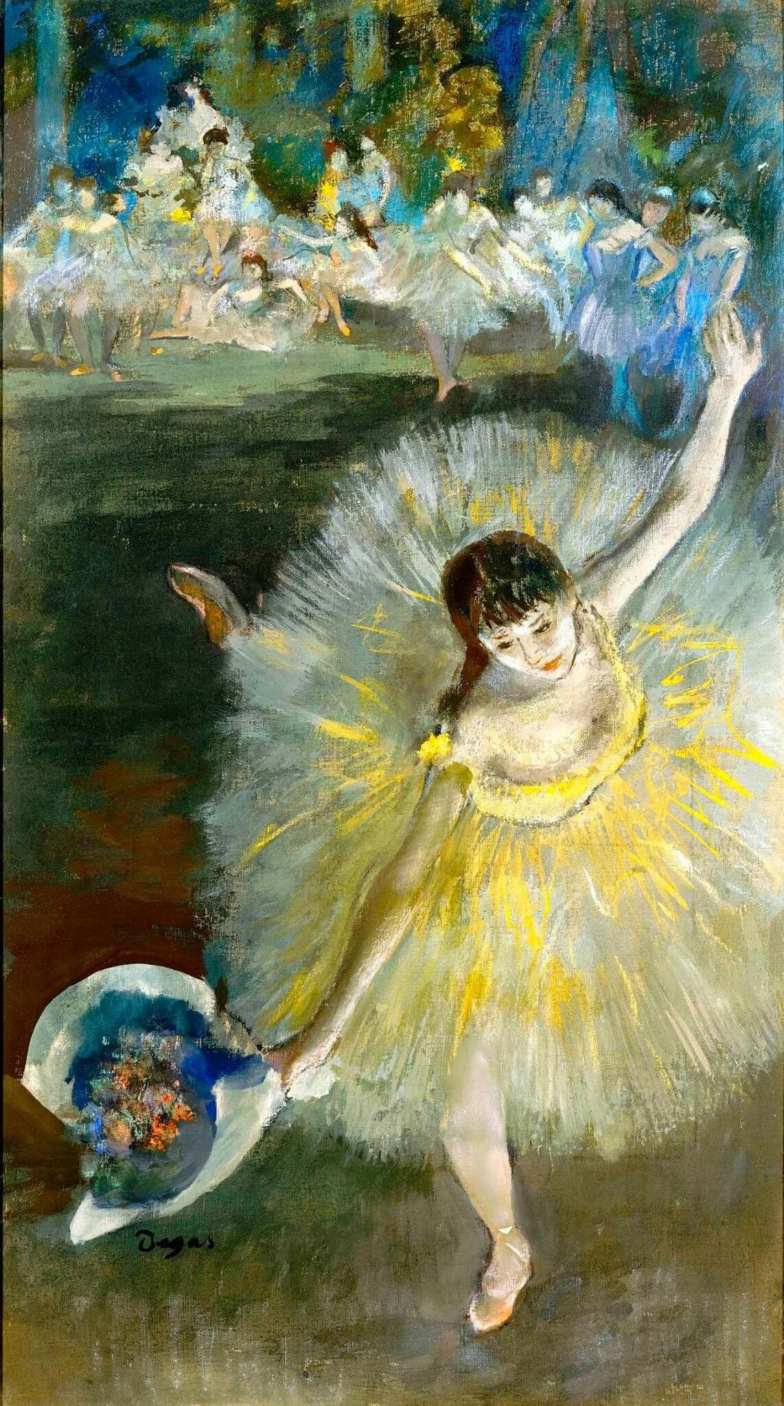 Degas artworks from 1900s   art-Degas.com   Ballet Dancers