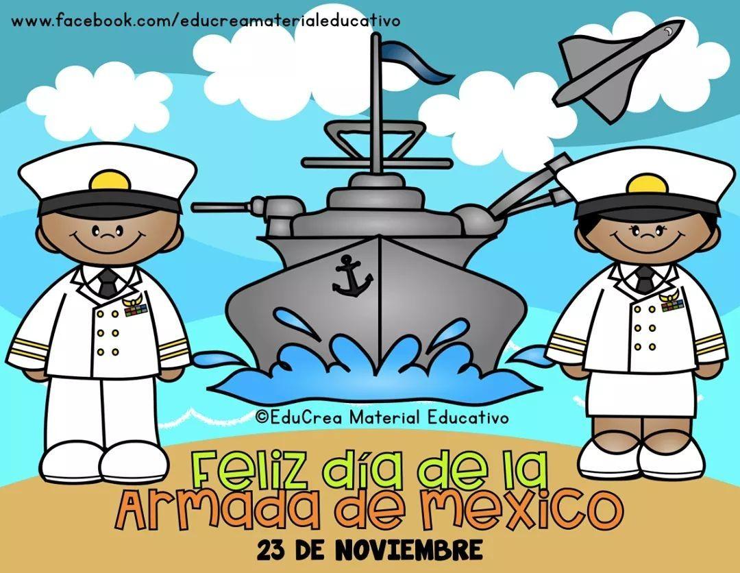 Pin De Anita En Noviembre Armada De Mexico Armada Feliz Dia